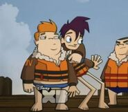 Randy and Howard in Wave Slayers 2