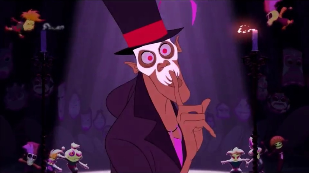 image the princess and the frog dr facilier in final footage