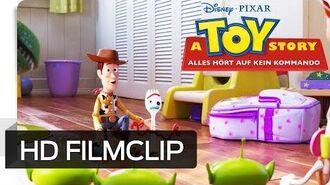 A TOY STORY ALLES HÖRT AUF KEIN KOMMANDO – Filmclip Das ist Forky Disney•Pixar HD