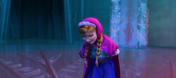Anna in Elsas Eispalast
