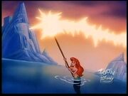 Ariel powers up the trident