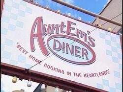 Aunt Em's Sign