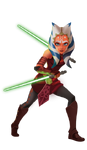 Forces of Destiny Hasbro Art - Ahsoka