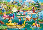 King-international-disney-fun-on-the-water-jigsaw-puzzle-1000-pieces 45418-1 fs