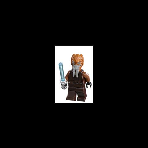 Figurka Plo Koona w klockach LEGO.
