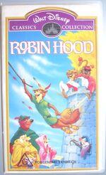 Robin Hood 1999 AUS VHS