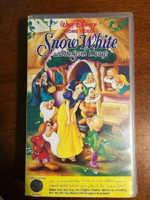 Snow White VHS for Middle East 1995