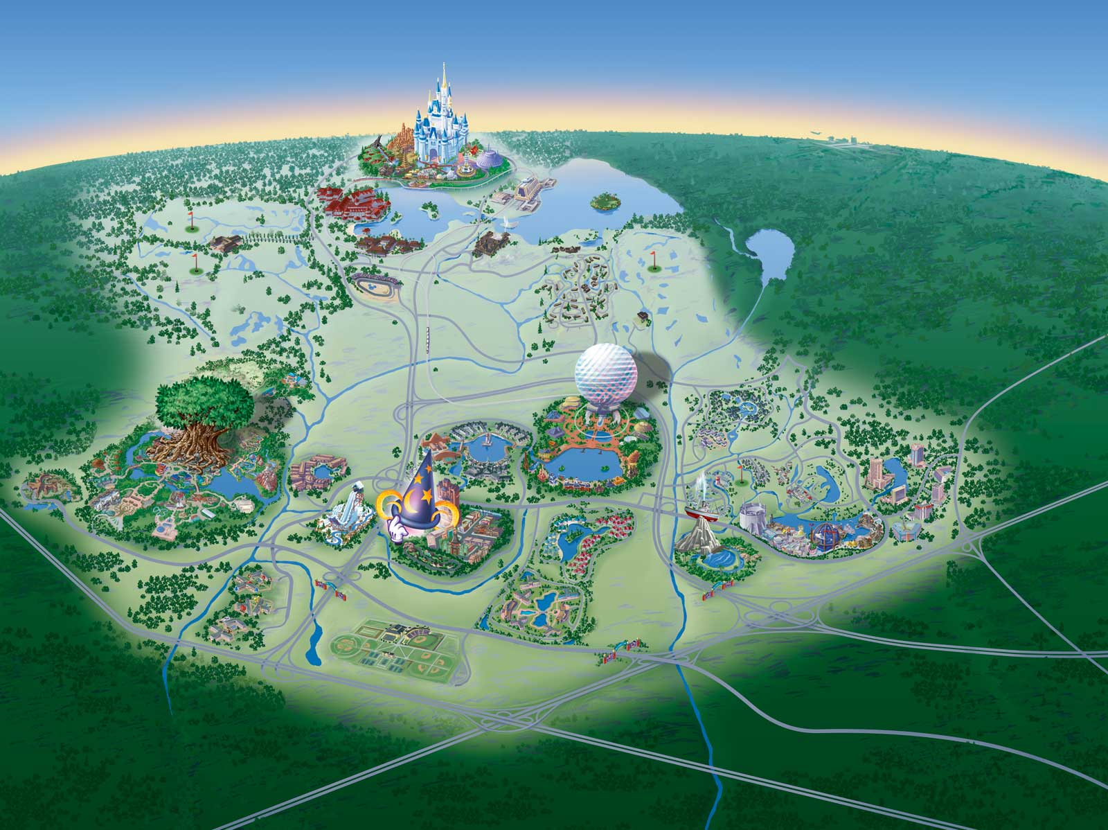 Image walt disney world mapg disney wiki fandom powered by walt disney world mapg gumiabroncs Choice Image