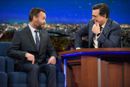 Will Forte visits Stephen Colbert