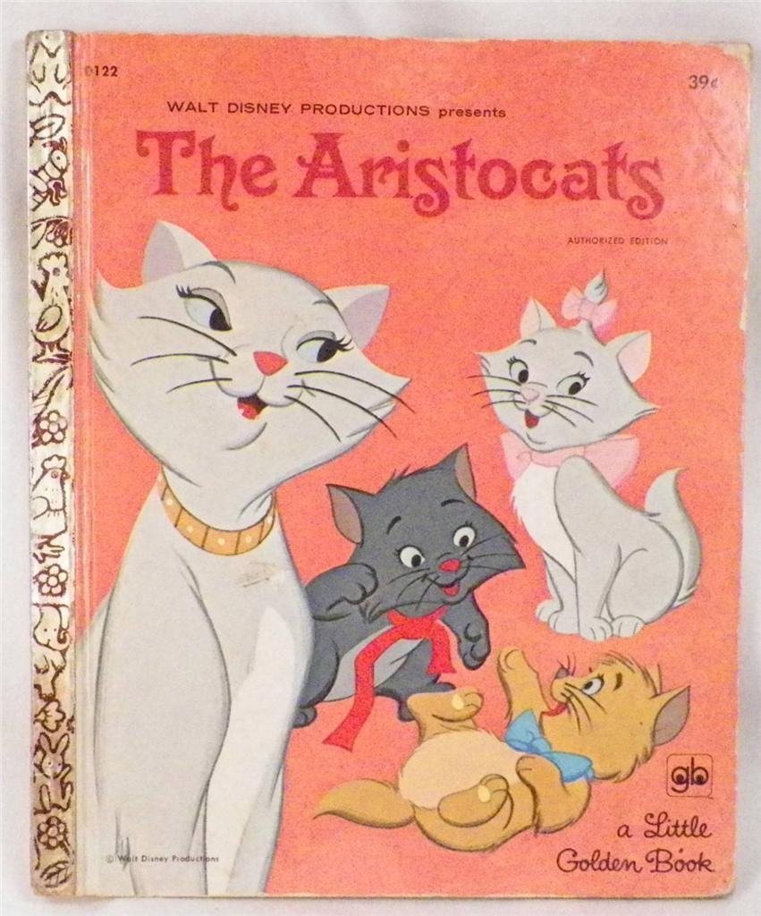 Aristocats Frog: The Aristocats (Little Golden Book)