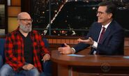 David Cross visits Stephen Colbert
