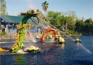 Discovery River Boats Sculptures