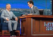 George Takei visits Stephen Colbert
