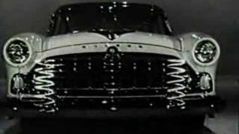 Hudson AMC Commercial With Donald Duck 1955