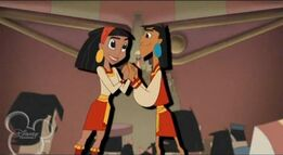Kuzco and Malina getting together
