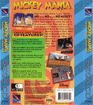 Mickey Mania - The Timeless Adventures Of Mickey Mouse (U) (Back)