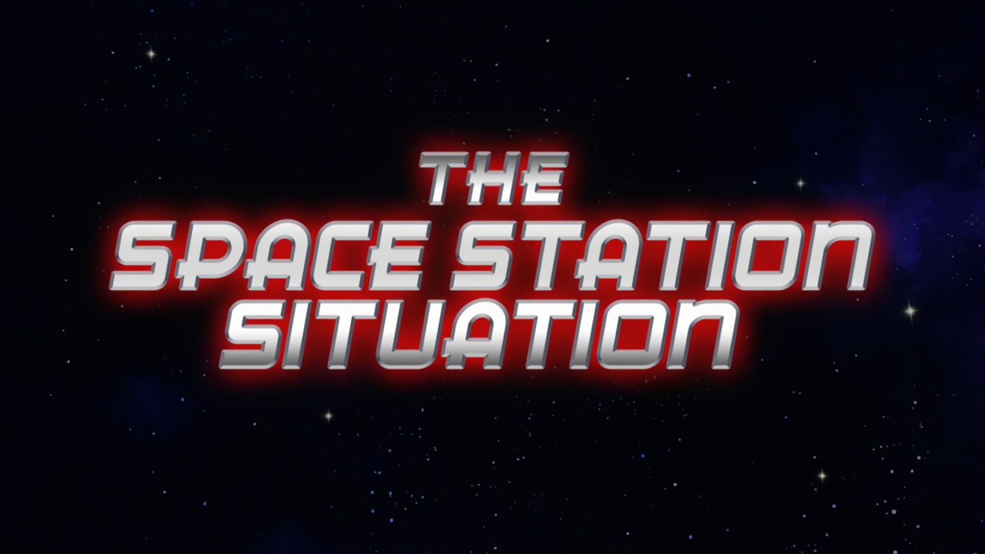 The Space Station Situation Disney Wiki Fandom Powered By Wikia