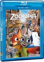 Zootopia Blu-Ray and DVD México