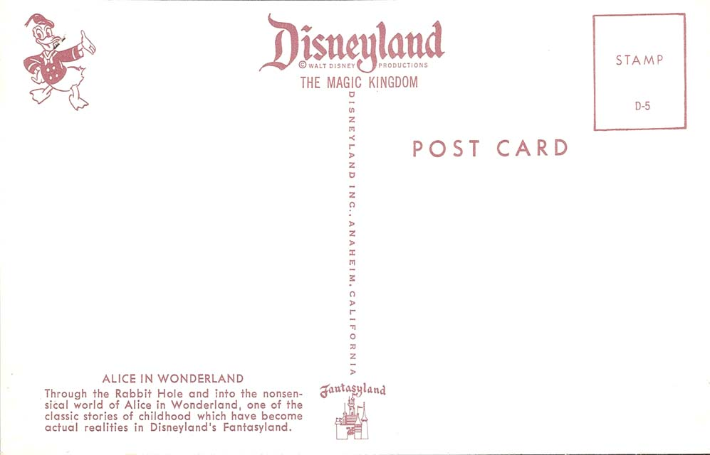 Image - Disneyland Postcard D-5 Interior Back 640.Jpg | Disney