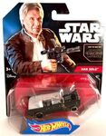 Han Solo TFA Hot Wheels