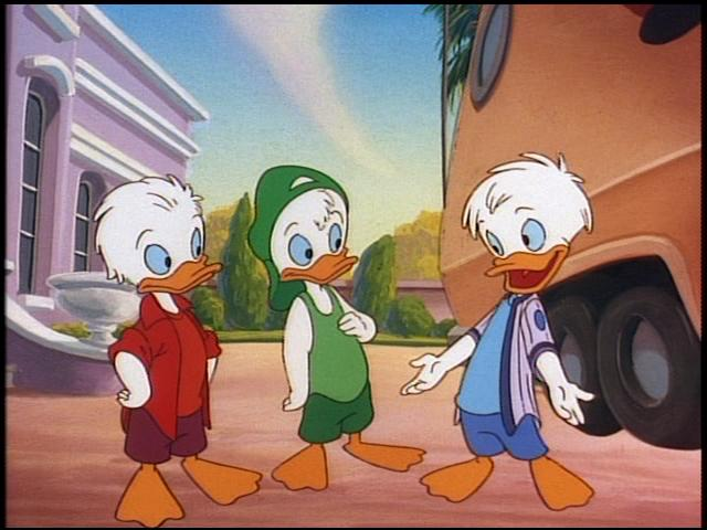 Teenage Huey Dewey and Louie