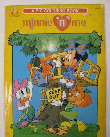 Minnie N\' Me: A Big Coloring Book | Disney Wiki | Fandom