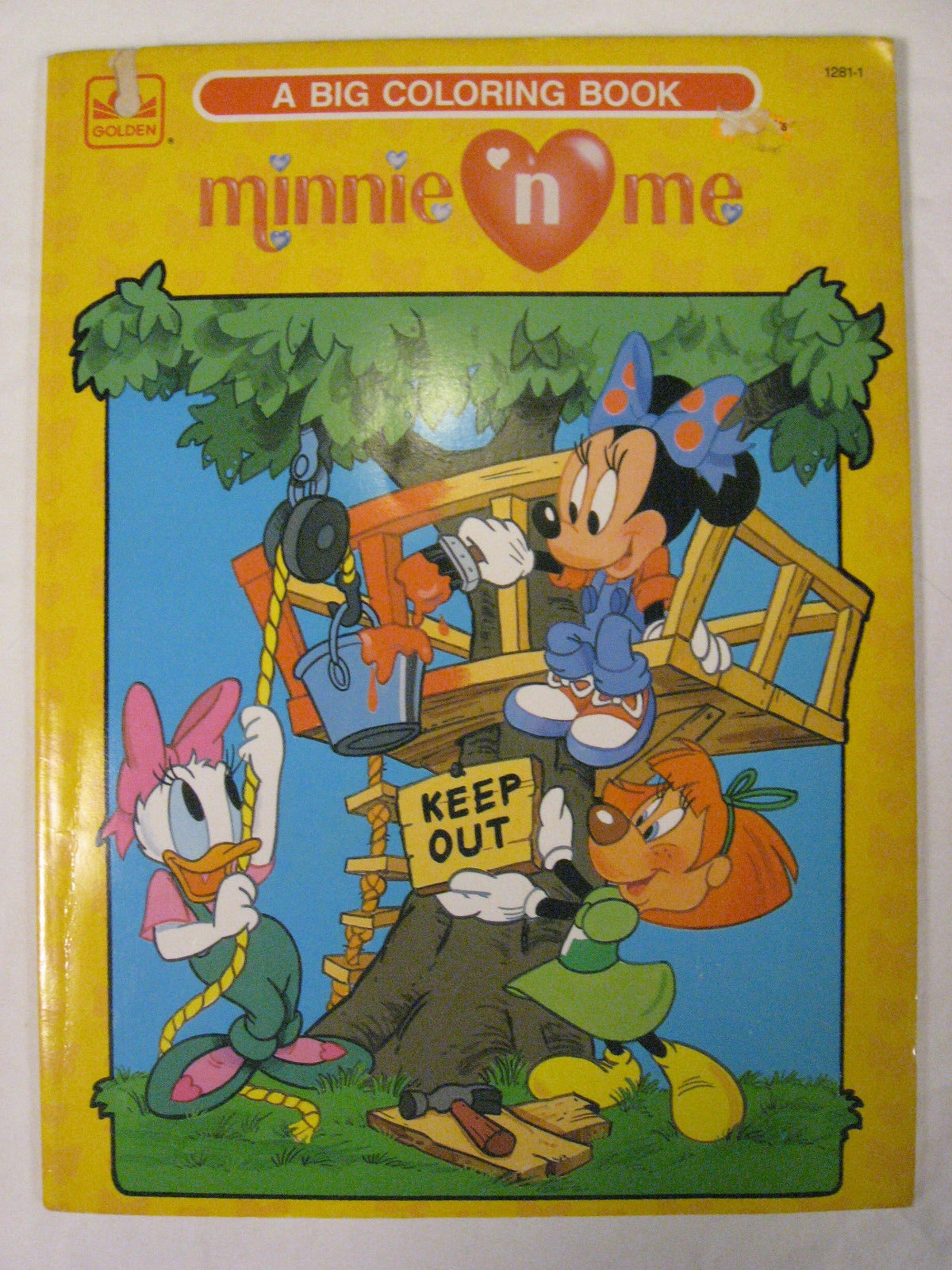 Minnie N\' Me: A Big Coloring Book | Disney Wiki | FANDOM powered by ...