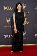 Neve Campbell 69th Emmys