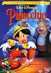 Pinocchio 1999 DVD