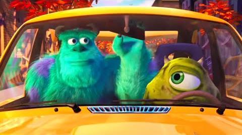"""Pixar- Short Film Pixar -8 """"Mike's New Car"""" (2002)"""