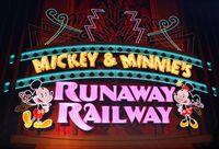 Runaway Railway Neon