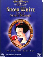 Snow White and the Seven Dwarfs 2 Disc 2001 AUS DVD