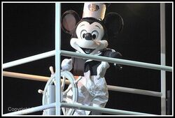 Steamboat Mickey from Fantasmic