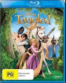 Tangled 2011 AUS Blu Ray