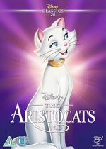 The Aristocats UK DVD 2014 Limited Edition slip cover