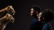 The Lion King (2019) - JD McCray and Shahadi Wright Joseph with Young Simba and Young Nala