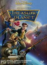 Treasure Planet 2003 AUS DVD First