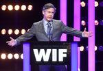 Chris Parnell speaks onstage WIF
