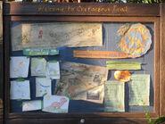 Cretaceous Trail Woodchucks Sign