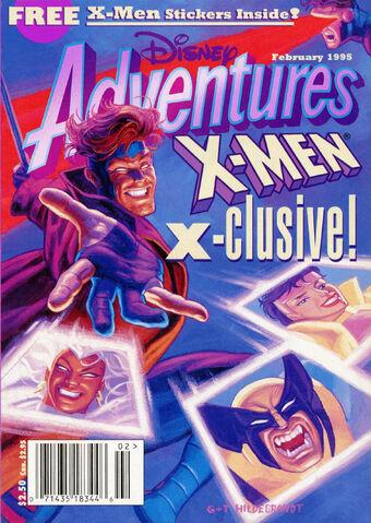 File:Disney adventures magazine cover february 1995 x men.jpg