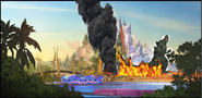 Godzilla Invades Zootopia