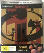 Incredibles 2 2018 AUS 4K Ultra HD Steelbook