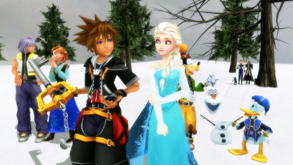 Image result for KINGDOM HEARTS 3 FROZEN WORLD