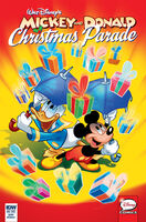 Mickey and Donald Christmas Parade 4