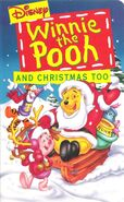 Pooh Christmas VHS