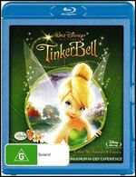 Tinker Bell 2008 AUS Blu Ray