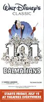 101 Dalmatians - 1991 Theatrical Print Ad from Disneyland Guide
