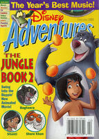 Disney Adventures Magazine cover February 2003 The Jungle Book