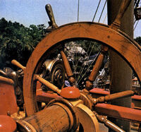 Disneyland Pirate Ship Wheel