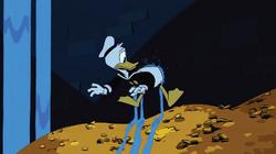 Donald Duck in der Schatzkammer